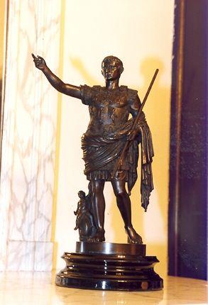Kopie van Romeins standbeeld van keizer Marcus Aurelius
