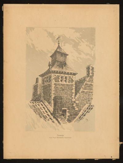 Paul Marie Bamps (1862-1932), Den Arend, ca. 1890, pentekening.