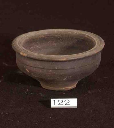Volledige kom in gladwandig aardewerk (GW)