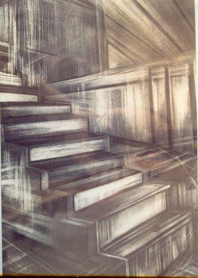 Ann Vandermeeren (°1964), Een vlak licht, genummerd 2/6, 1988, papier, ets.