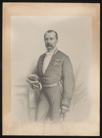 Gh. Schubert, lithograaf, H.L. Leys, Simonau & Toovey, prent Gaspard Bamps, 1880, papier.