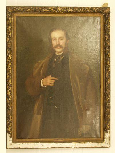 Portret van heer