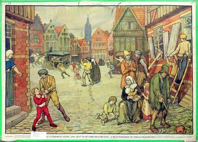 Wandplaten nederlandse geschiedenis