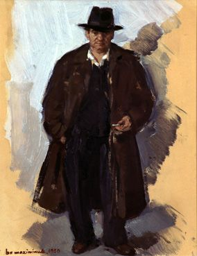 Portret van Minus Van Looi