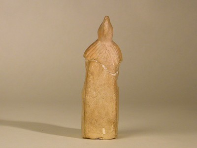 Volledige figurine van Minerva in terracotta