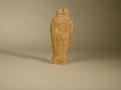 Volledige figurine van Amor en Psyche in terracotta