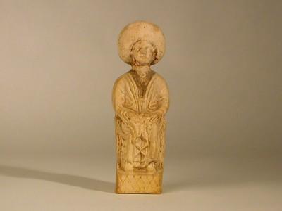Volledige figurine van een Mater in terracotta