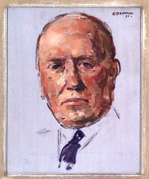 Portret van Frans Theelen