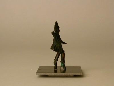 Volledige figurine van een Lar in brons