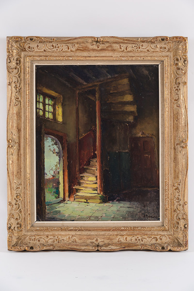 Oude trap begijnhof