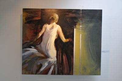 Отварање изложбе слика Стојана Миланова Лична митологија