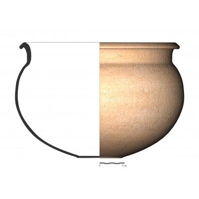 PT_R16. Recipiente cerámico procedente del oppidum ibérico de Puente Tablas (Jaén)