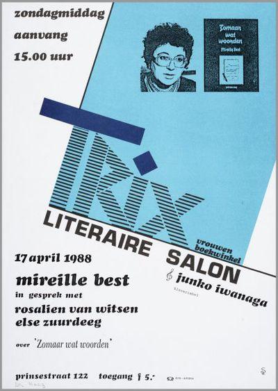 Trix Literaire salon