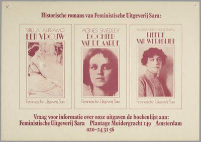 Historische romans van Feministische Uitgeverij Sara