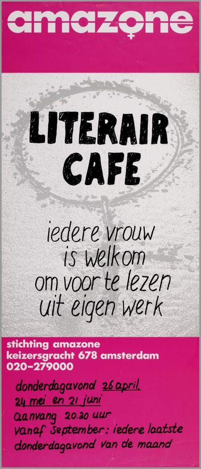 Literair Cafe: ieder vrouw is welkom om voor te lezen uit eigen werk