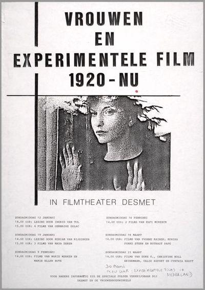 Vrouwen en experimentele film 1920 - nu