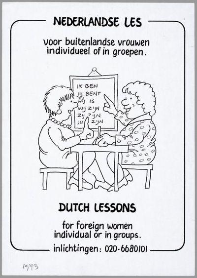 Nederlandse les voor buitenlandse vrouwen, individueel of in groepen / Dutch lessons for foreign women individual or in groups