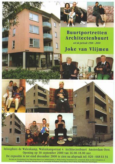 Joke van Vlijmen: Buurtportretten Architectenbuurt uit de periode 1998 - 2000