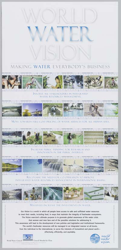 World Water Vision : making water everybody's business