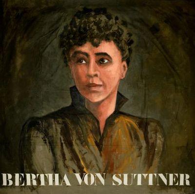 Portret. Bertha von Suttner.