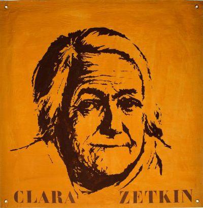 Portret. Clara Zetkin.