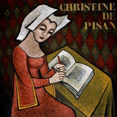Portret. Christine de Pisan.