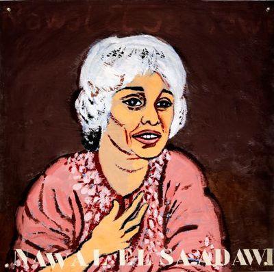 Portret. Nawal El Saadawi.