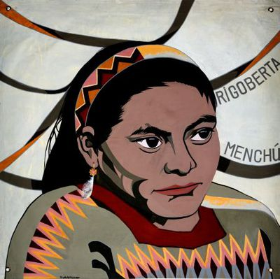 Portret. Rigoberta Menchù.
