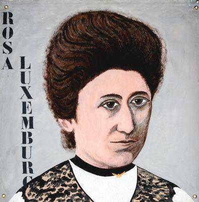 Portret. Rosa Luxemburg.