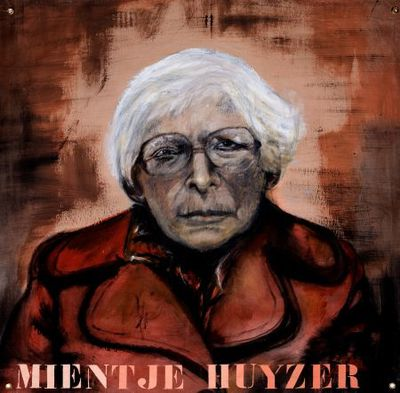 Portret. Mientje Huyzer.