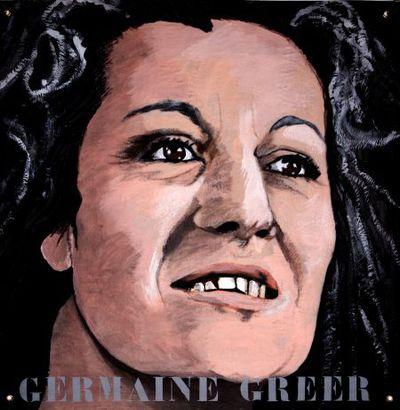 Portret. Germaine Greer.