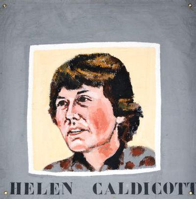 Portret. Helen Caldicott.
