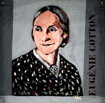 Portret. Eugènie Cotton.