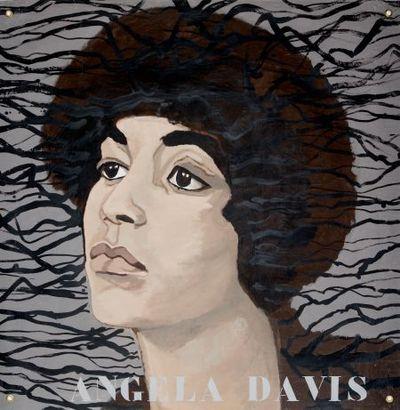 Portret. Angela Davis.