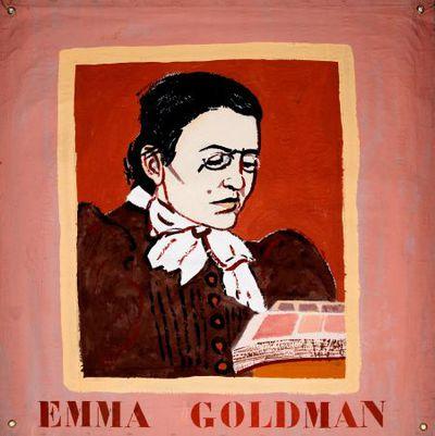 Portret. Emma Goldman.