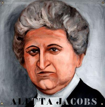 Portret. Aletta Jacobs.