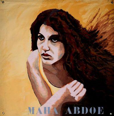 Portret. Maha Abdoe.