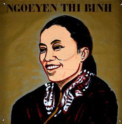 Portret. Ngoeyen Thi Binh.