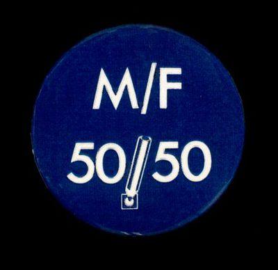 M/F 50/50'. Button