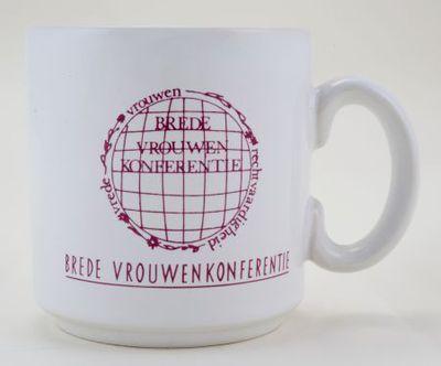 Beker. 'Brede Vrouwenkonferentie'