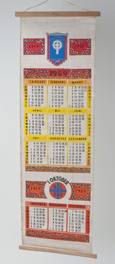 Kalender. 'NCVB'