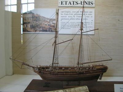 Maquette de schooner