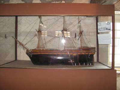 Maquette de vaisseau