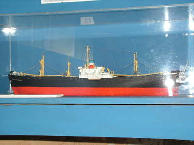 Maquette de liberty ship
