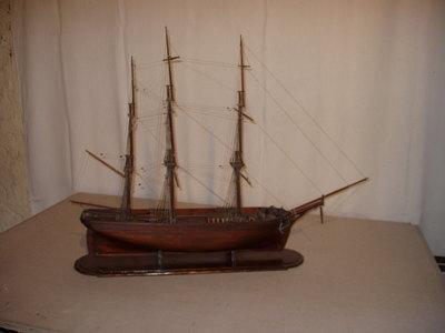 Maquette de trois-mâts