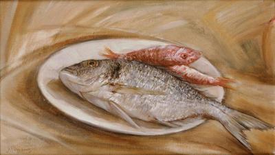Νεκρή φύση με ψάρια