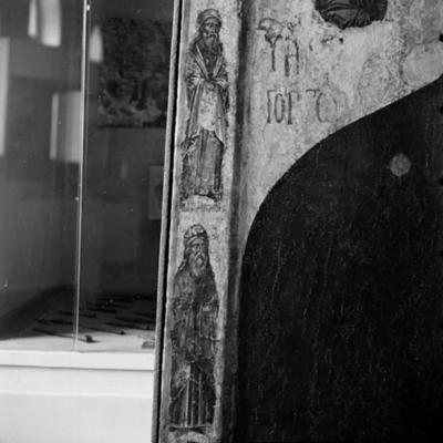 Prophet Ezekiel and an unknown prophet from a double-sided icon of Virgin Mary Gorgoepikoos and Christ Pantocrator from the Church of St Stephen, Sozopol
