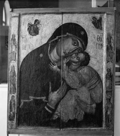 Unknown prophet from a double-sided icon of Virgin Mary Gorgoepikoos and Christ Pantocrator from the Church of St Stephen, Sozopol