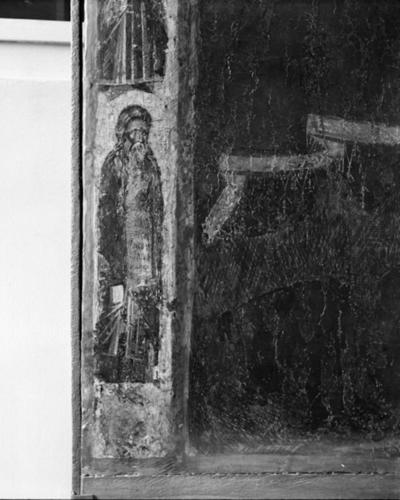 Prophet Isaiah  from a double-sided icon of Virgin Mary Gorgoepikoos and Christ Pantocrator from the Church of St Stephen, Sozopol
