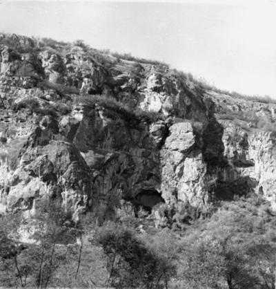 Rock-hewn monasteries on Russenski lom river' downstream